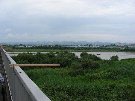 長生橋から見た信濃川西岸