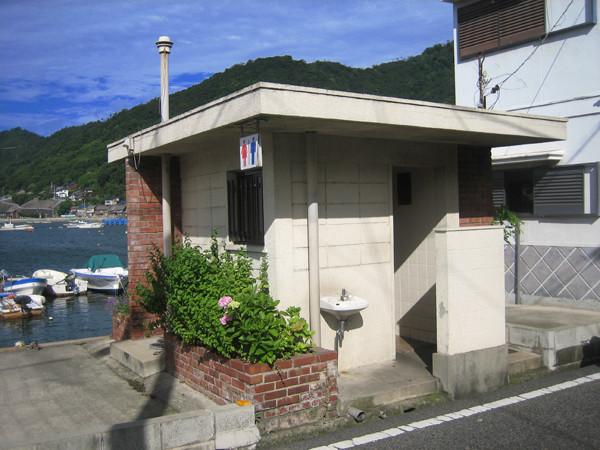 公衆便所/道越会館脇