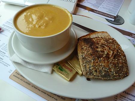 キャロット&コリアンダースープ