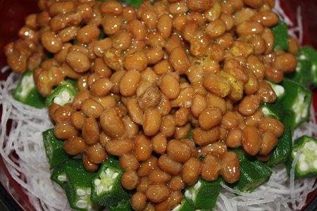 納豆オクラ丼