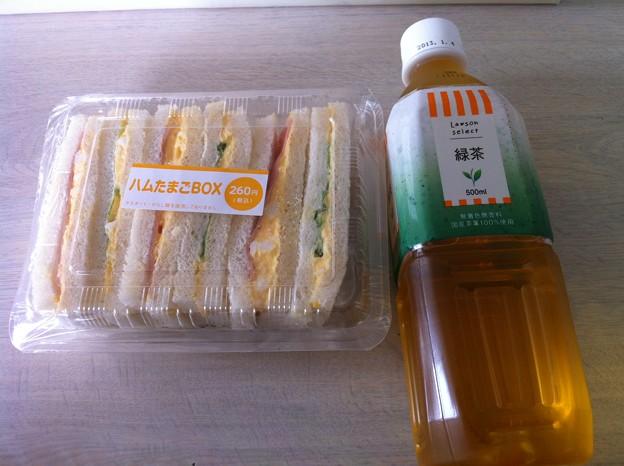 写真: 20120602朝食