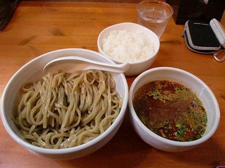 麺屋高橋 辛つけ麺+ライス