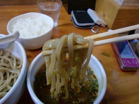 麺屋高橋 辛つけ麺 麺