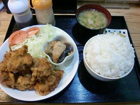 絆 ザンギ定食(ご飯大盛り)