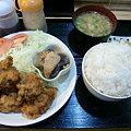 Photos: 絆 ザンギ定食(ご飯大盛り)