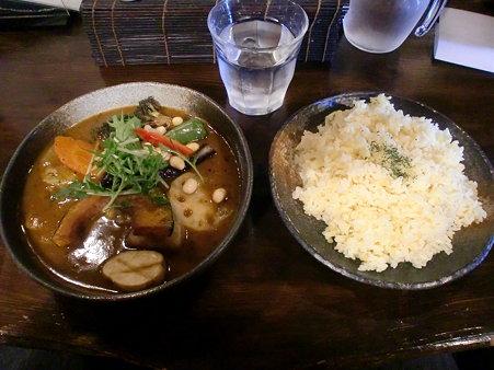 Rojiura Curry SAMURAI 本店 ポークと野菜+ライスLL