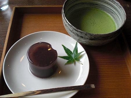 抹茶&水羊羹