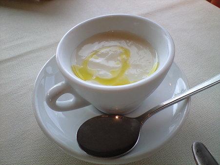 長いものスープ