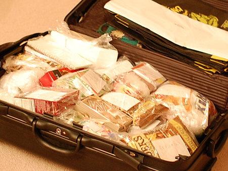 スーツケース状況