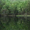 写真: 緑水鏡
