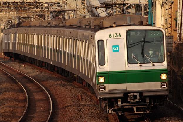 照片: 千代田線6000系 6134F
