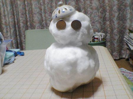 雪だるま(完成)