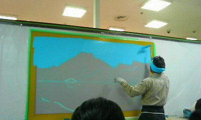 銭湯富士山4