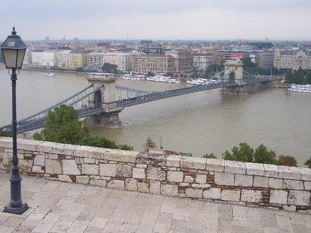 セーチェーニ鎖橋と市街地 CIMG0264