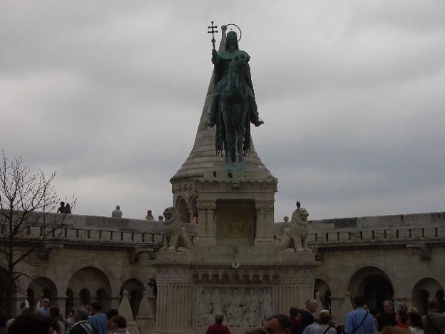 ブダの王宮 銅像 CIMG0258