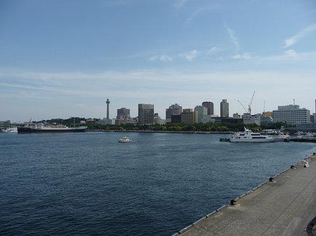 090602-大桟橋から山下公園方面 (1)