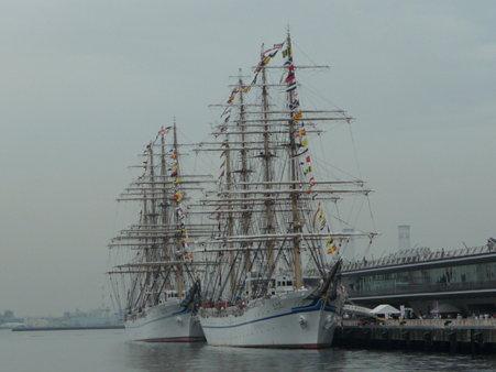 090718-大桟橋 帆船 (1)