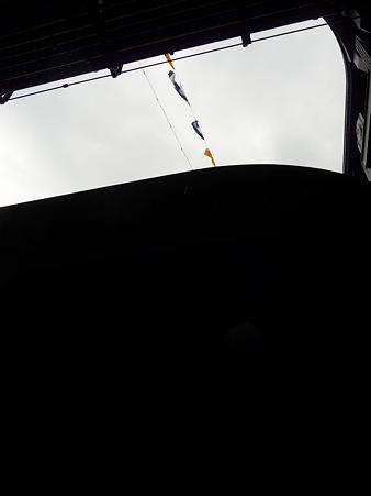 091024-ひゅうが 格納庫から船尾リフター (5)