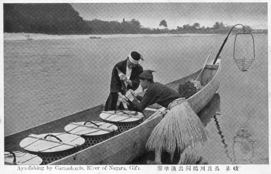 長良川鵜飼出漁準備