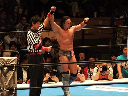 新日本プロレス BEST OF THE SUPER Jr.XIX Aブロック公式戦 獣神サンダー・ライガーvsPAC (9)