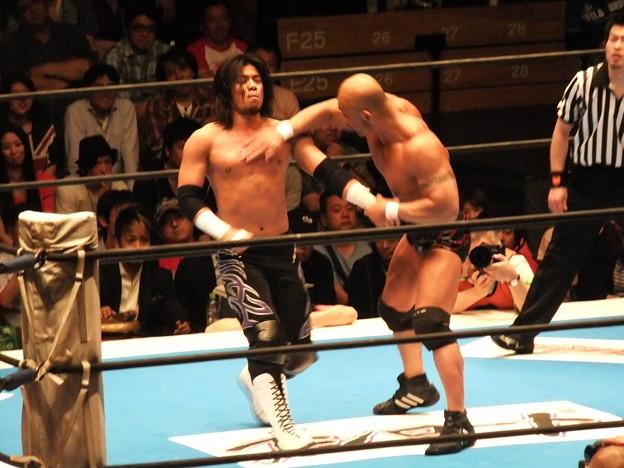 新日本プロレス BEST OF THE SUPER Jr.XIX Bブロック公式戦 佐々木大輔vs邪道 (1)