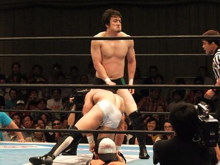 新日本プロレス BEST OF THE SUPER Jr.XIX 準決勝戦 Aブロック1位 PAC vs Bブロック2位 田口隆祐 (8)