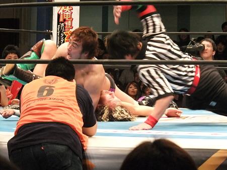 新日本プロレス CMLL 後楽園ホール 20110123 (15)