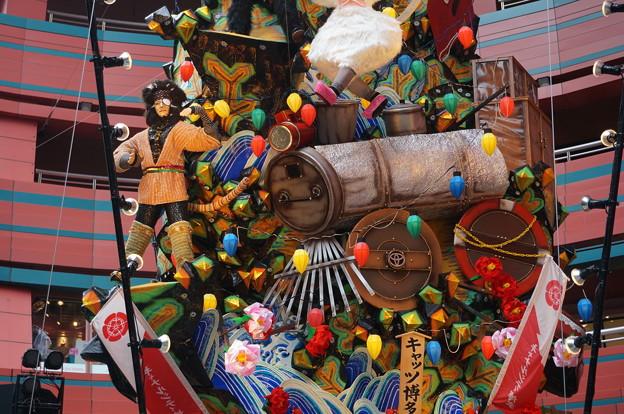 12 2014年 博多祇園山笠 飾り山笠 キャッツ博多へ(きゃっつはかたへ) (20)