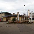 Photos: 万葉線、射水市新湊庁舎前駅