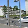 Photos: 青葉町6丁目交差点から見た下野幌団地P1010094