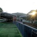 写真: 京王多摩動物公園駅 2番ホーム