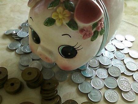 ダーリンのぶた貯金箱