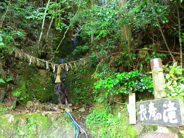 能勢の長寿の滝