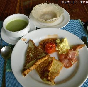 アマヤレイクの朝食