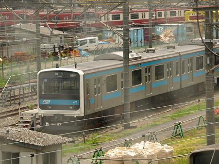 209系京浜東北線(東神奈川車庫)