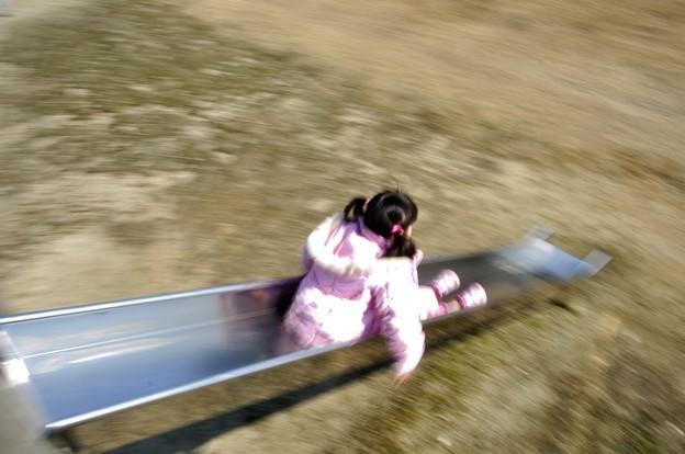 超高速滑り台