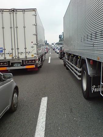 大渋滞....