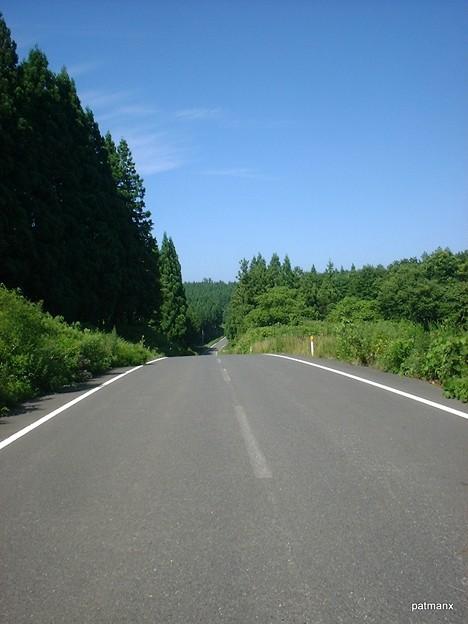 【北部上北広域農道】アップダウンは下りの加速で大体登り切れる