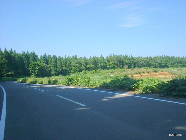 【北部上北広域農道】十二里前の大曲がり