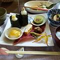 写真: お昼は太宰府の山菜日和で山...