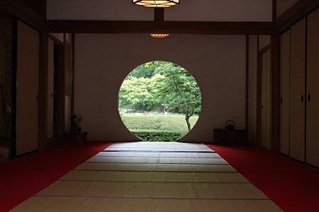 2009.05.25 北鎌倉 明月院 満月の窓