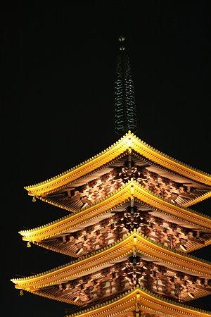 2009.06.27 浅草寺 五重塔