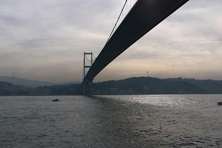 2011.01.28 トルコ イスタンブル ボスフォラス海峡クルーズ-ボスフォラス大橋