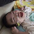 Photos: 笑う!