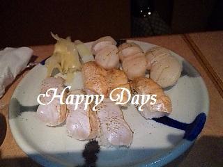 しおとスダチで食べる炙り寿司盛り合わせ