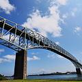 写真: 境水道大橋
