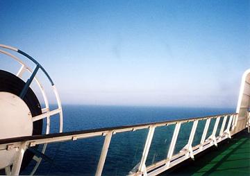 【23】タリンク・シリヤライン乗船 船上デッキ [2005]