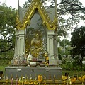 Photos: バンコク|ルンピ二―公園 どこにも必ずある仏様