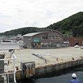 写真: 090617-30奥尻島のフェリー乗り場