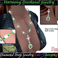 Photos: Harmony Deschanel - Diamond Drop Jewelry Color Change (BOXED)